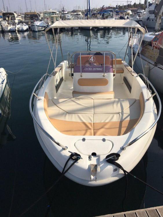 Boat rental Alghero cheap 550 Open