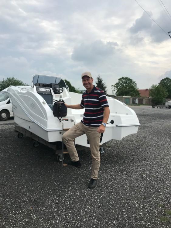 Oki Boats Barracuda 545 between personal and professional Los Alcázares