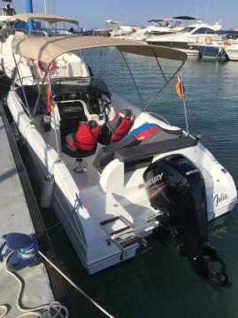 Oki Boats Barracuda 545 between personal and professional La Azohía