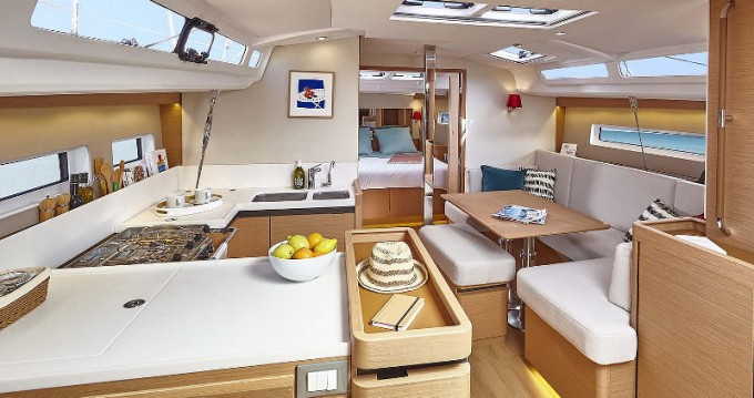 Jeanneau Sun Odyssey 440 between personal and professional Skiathos