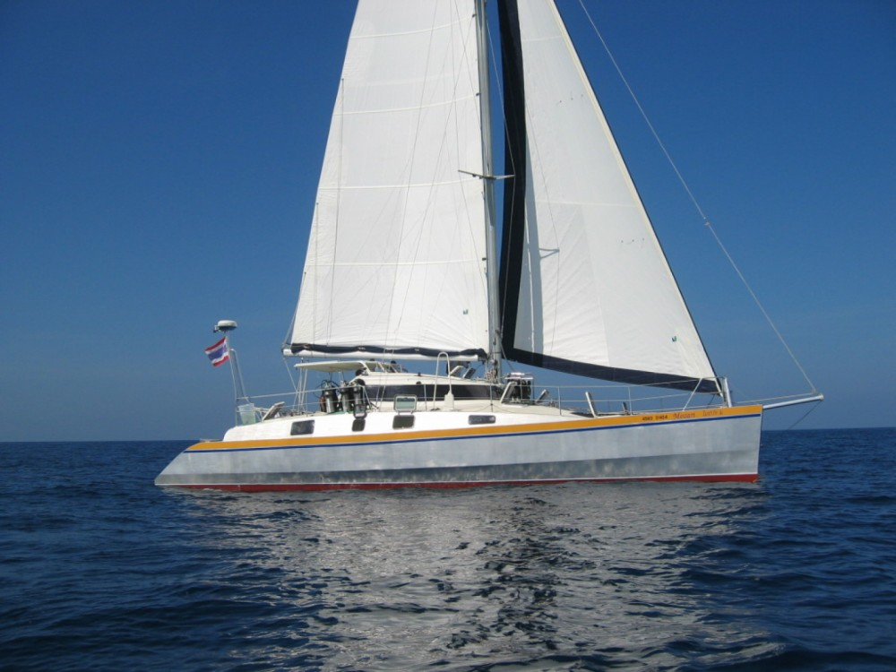 Hire Catamaran with or without skipper Mumby Mueang Phuket