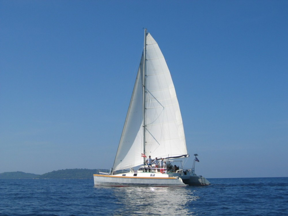 Catamaran for rent Mueang Phuket at the best price