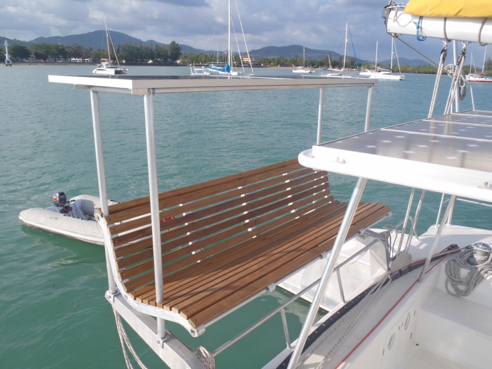 Rental Catamaran Mumby with a permit
