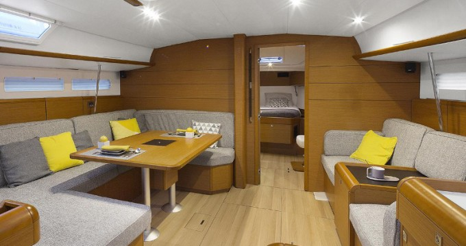 Jeanneau Sun Odyssey 519 between personal and professional Volos