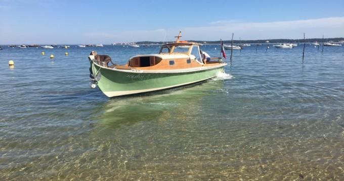 Rental Motorboat in Arcachon - Debord Pinasse à crémaillère