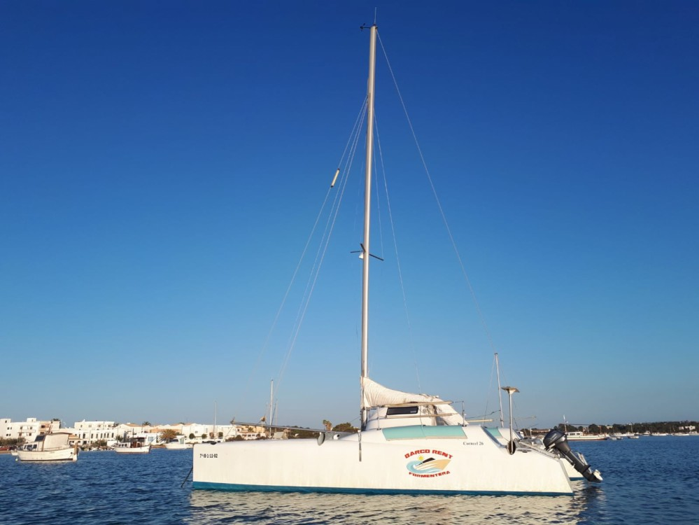 Hire Catamaran with or without skipper Fountaine Pajot Formentera
