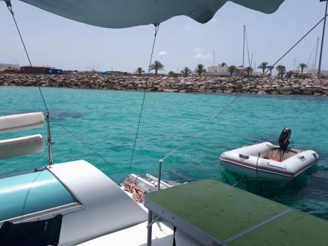 Rental yacht Formentera - Fountaine Pajot Corneel 26 on SamBoat