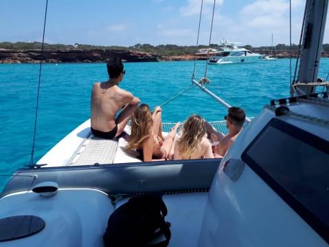 Boat rental Formentera cheap Corneel 26