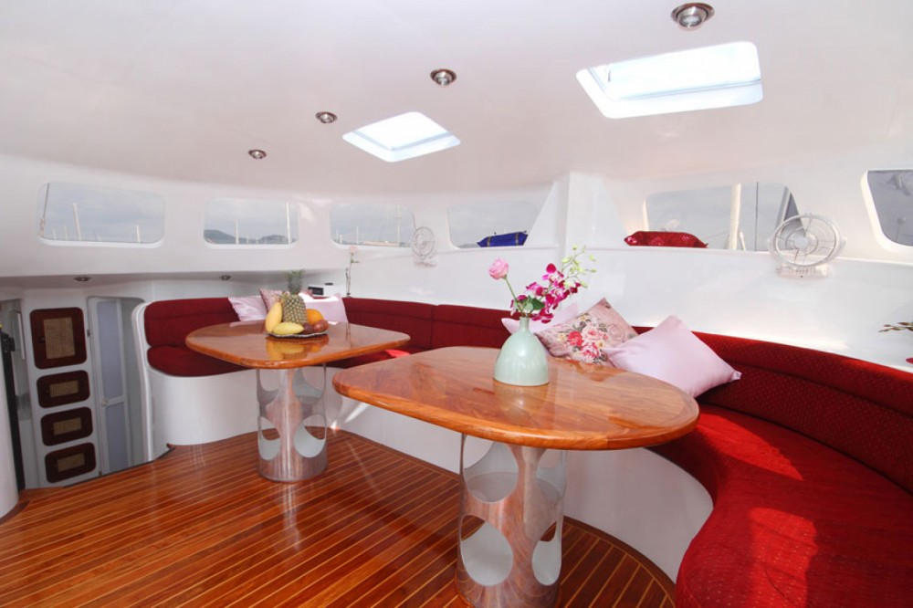 Hire Catamaran with or without skipper Amadeus Mueang Phuket
