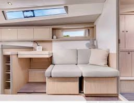 Boat rental Cannes cheap Oceanis 45