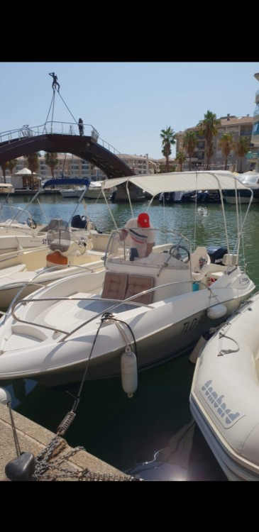 Boat rental Quicksilver Quicksilver 555 Commander in Fréjus on Samboat