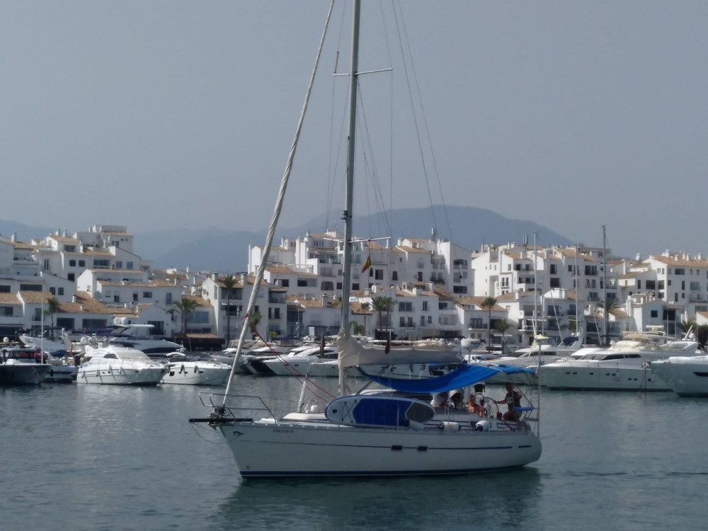 Boat rental Marbella cheap Bavaria 350