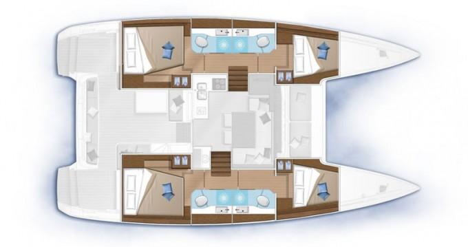 Rental yacht Rhodes - Lagoon Lagoon 40 on SamBoat