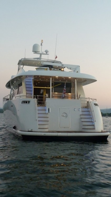 Trawler Yacht between personal and professional Porto-Vecchio