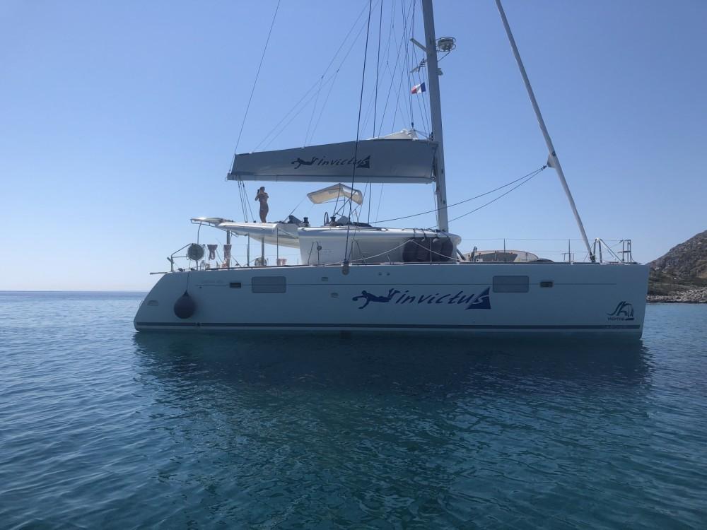 Rent a Lagoon Lagoon 450 F Marseille