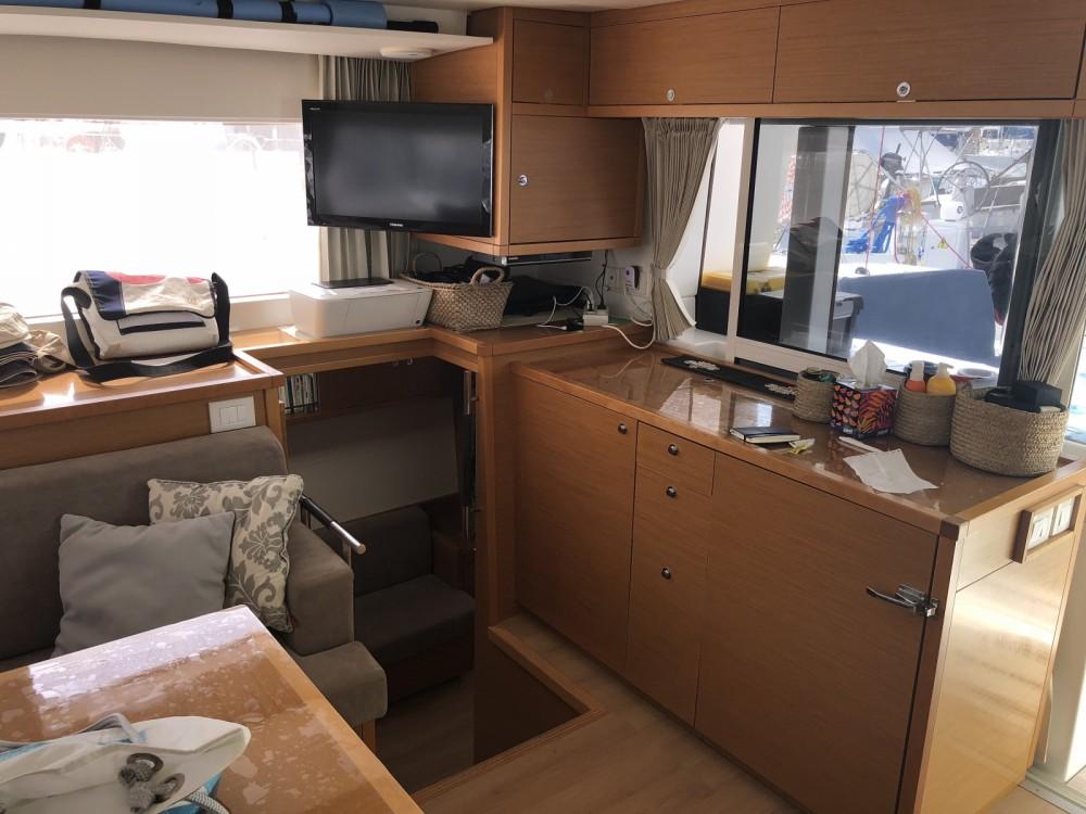 Rental Catamaran in Marseille - Lagoon Lagoon 450 F