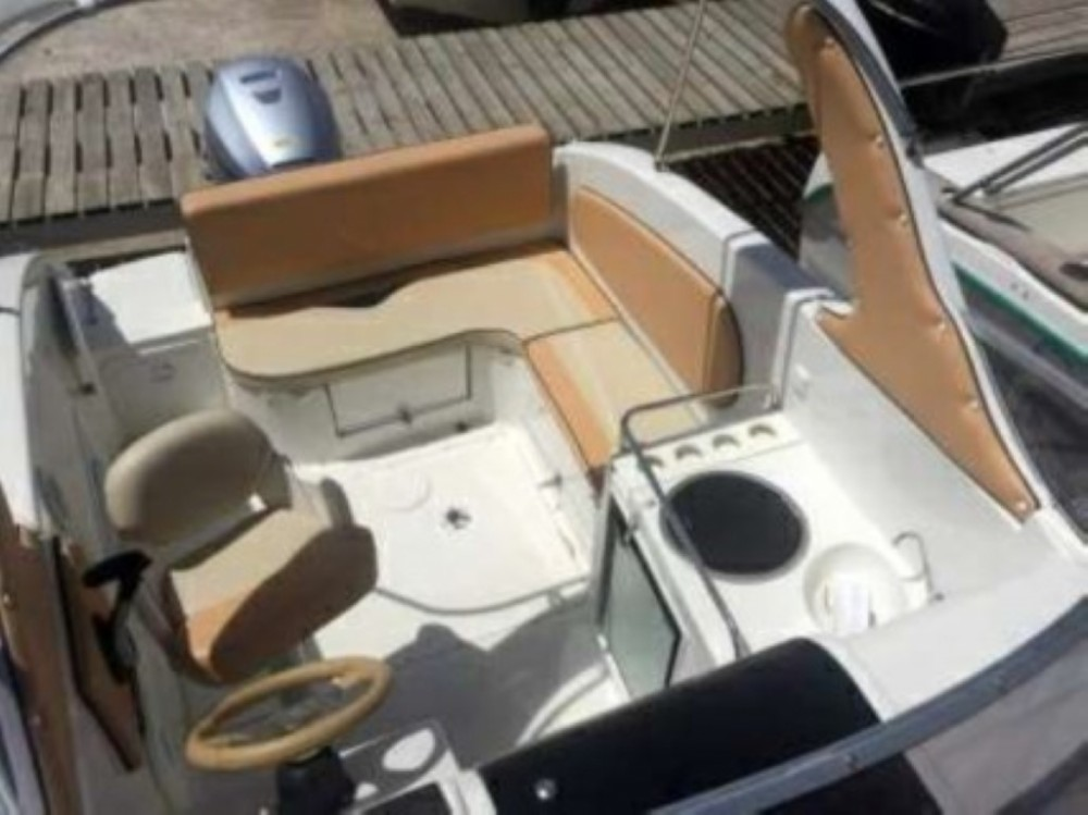 Rental Motor boat SAVER Cabin with a permit