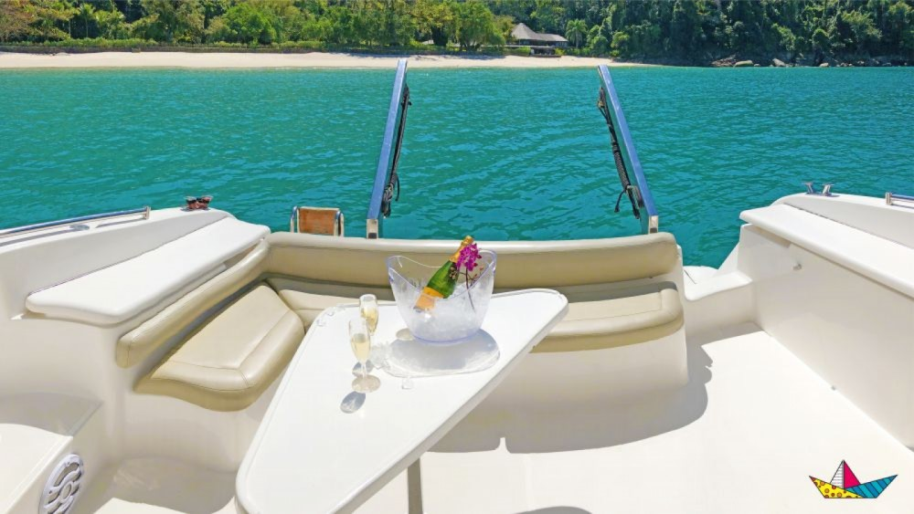 Azimut 400 Full between personal and professional Angra dos Reis