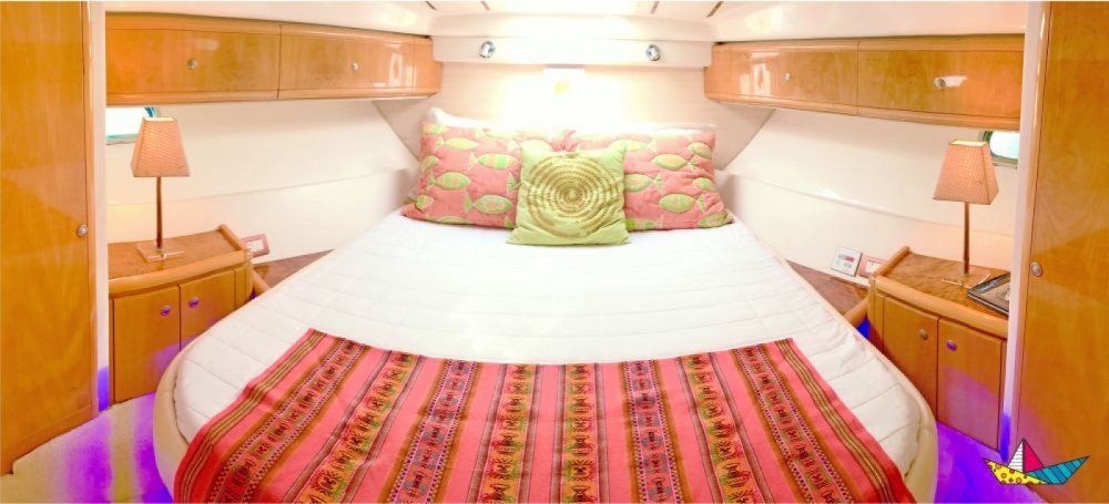 Ferretti 460 Millenium between personal and professional Angra dos Reis