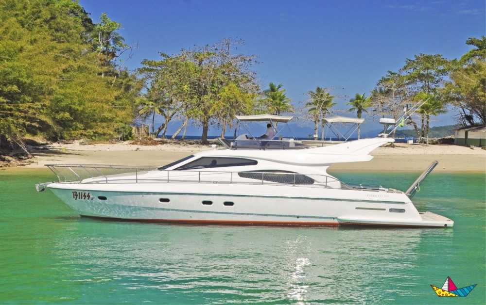 Rental Motorboat in Angra dos Reis - Ferretti 500 Millenium