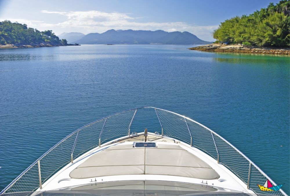 Ferretti 500 Millenium between personal and professional Angra dos Reis