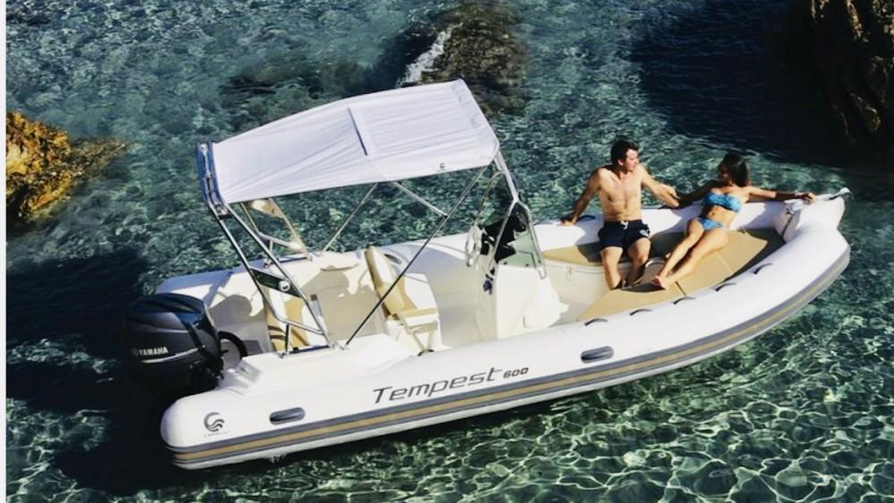 Rental yacht Porto-Vecchio - Capelli Tempest 600 on SamBoat