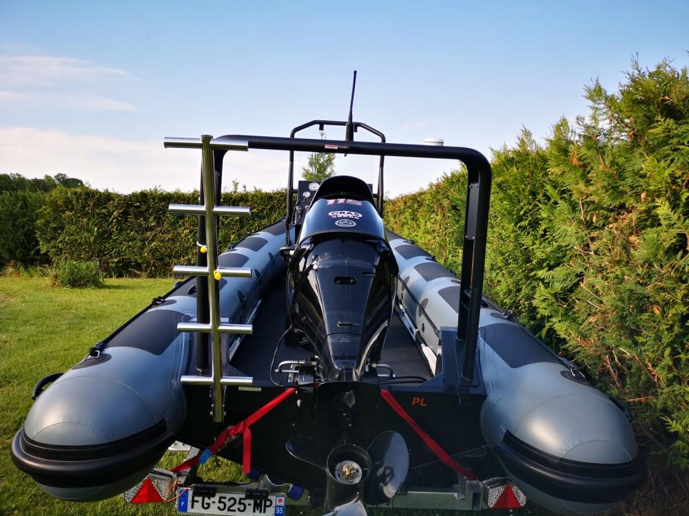 Rental RIB in Beaumont-sur-Oise - Highfield Ocean Master fishing