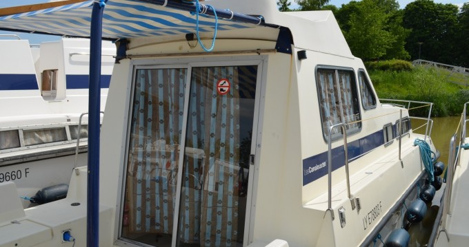 Rental Canal boat in Carcassonne - Les Canalous Triton 860 Fly
