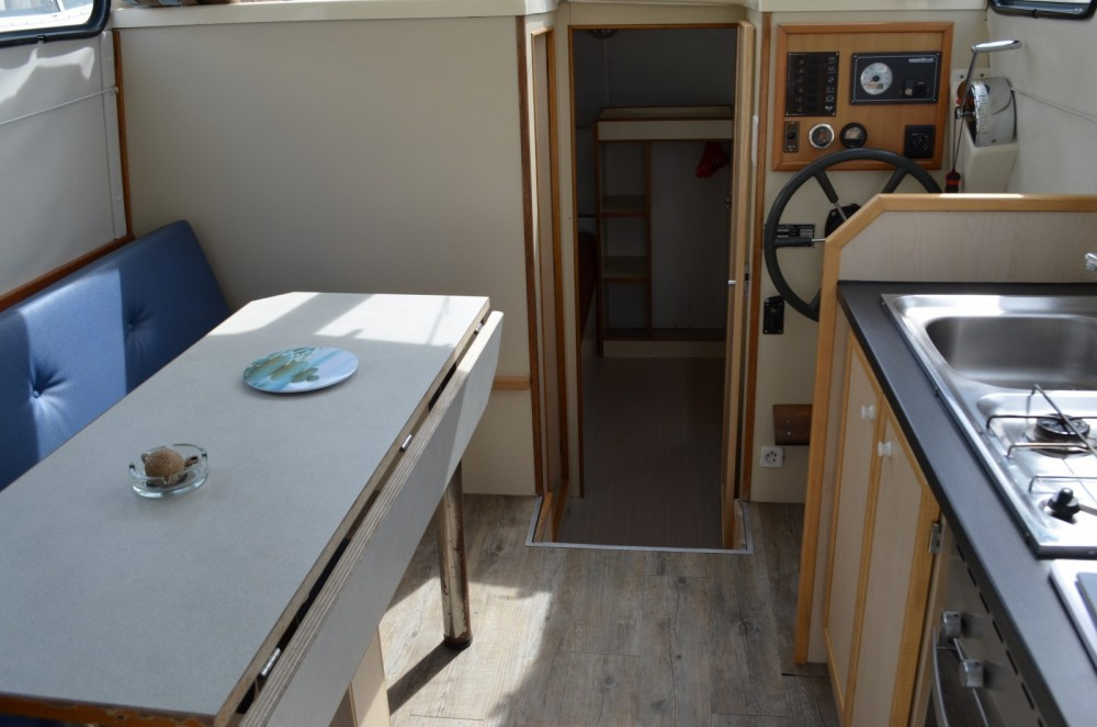 Rental Canal boat in  - Les Canalous Triton 860 Fly