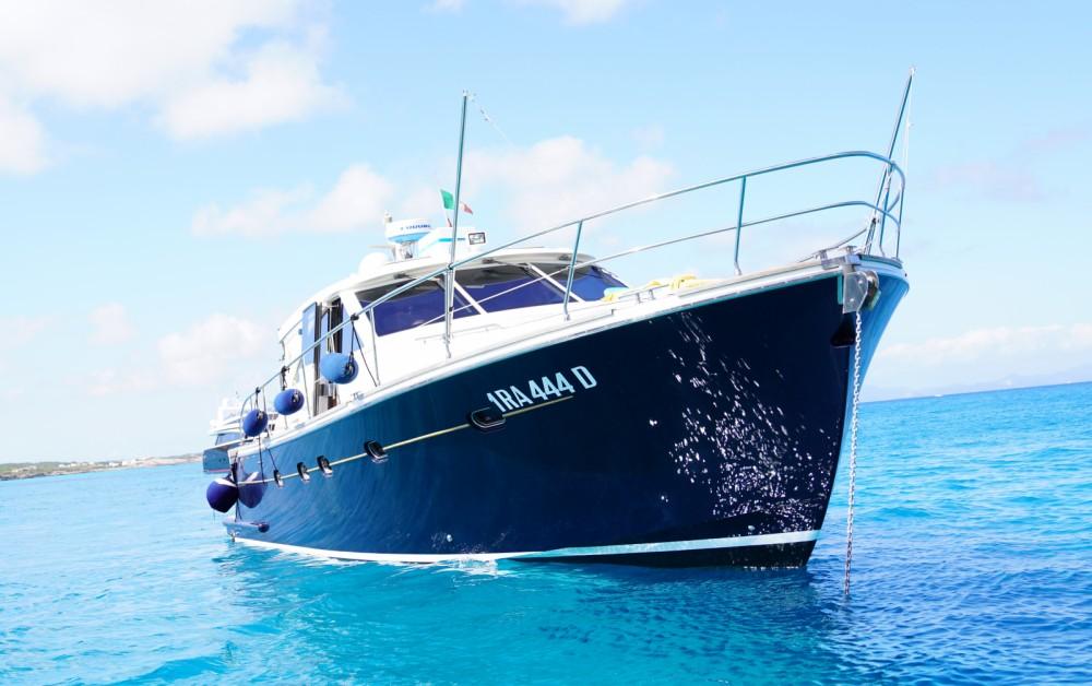 Rent a Cantieri Estensi Goldstars 48 Balearic Islands