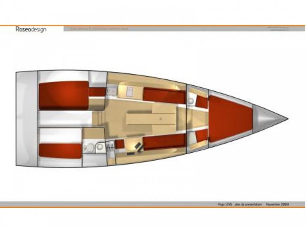 Rental Sailboat in Le Marin - Pogo Structures Pogo 12.50