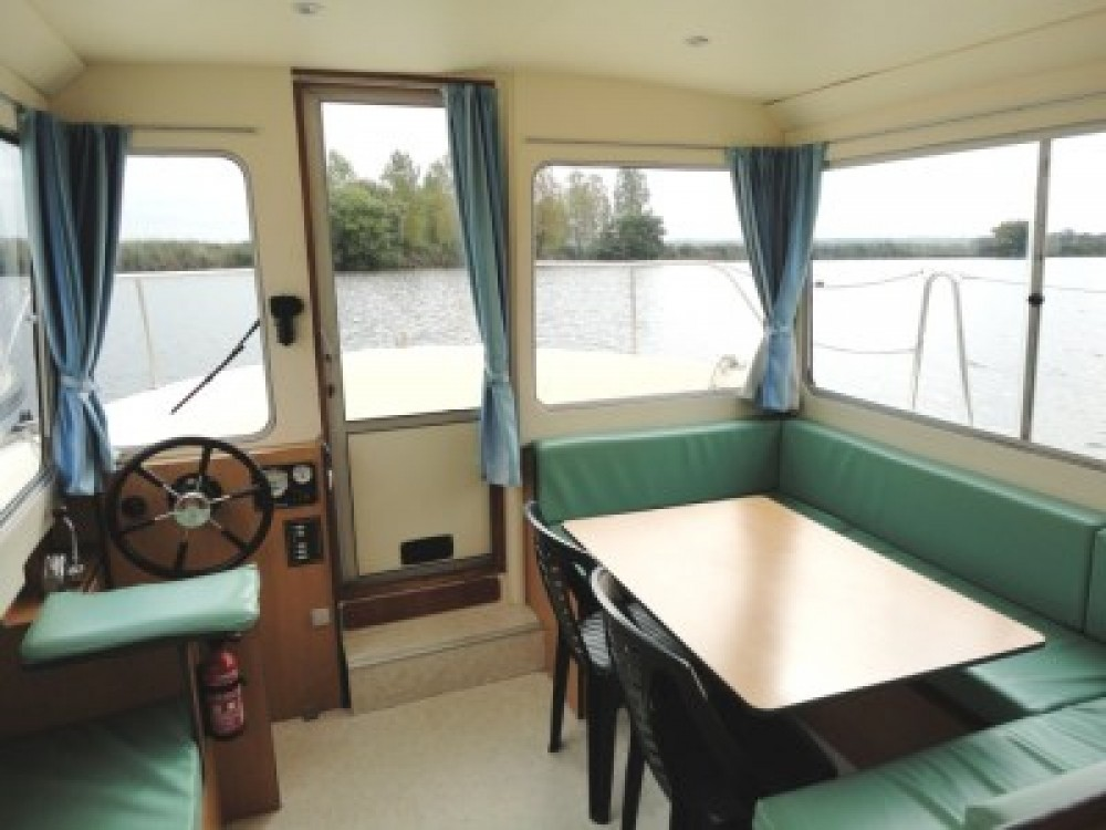 Canal boat for rent Cognac at the best price