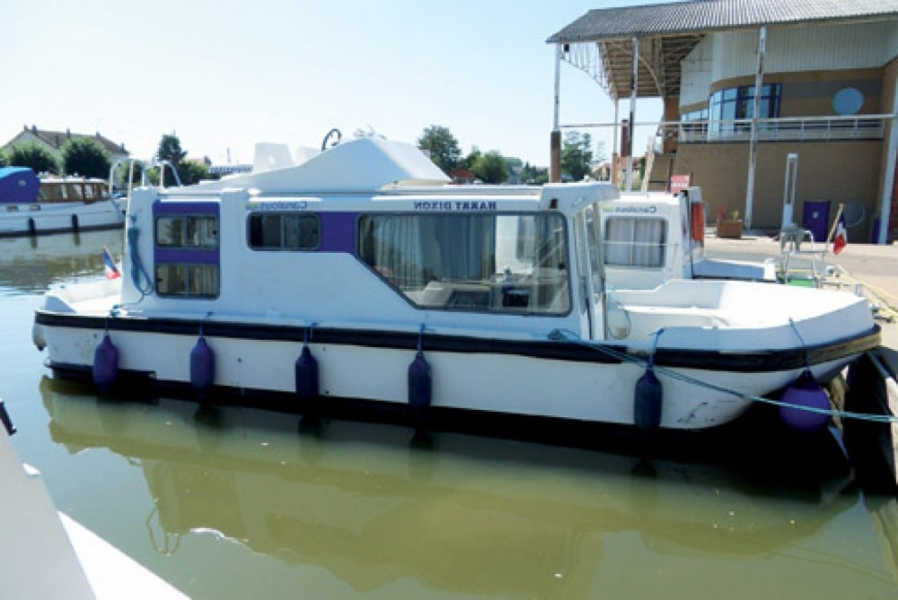 Rental Canal boat in Agde - Les Canalous Espade 850 Fly