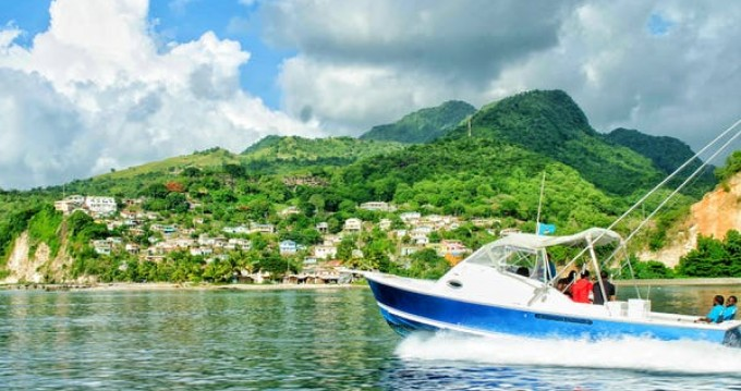Rental Motorboat in Port Castries - Bertram Bahia Mar