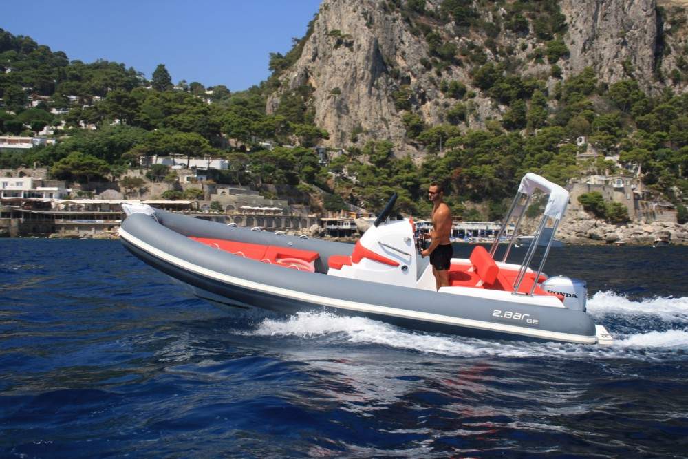 Rental RIB 2 BAR with a permit