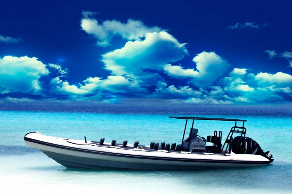 Boat rental Willemstad cheap Bora 929