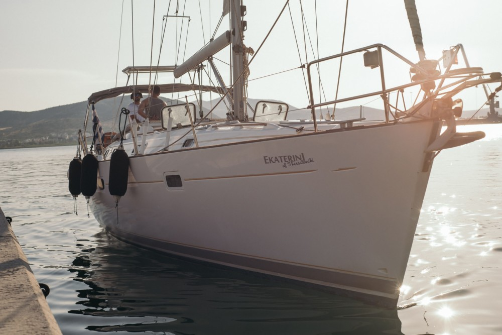 Rental yacht Volos Municipality - Oceanis Clipper 411 on SamBoat