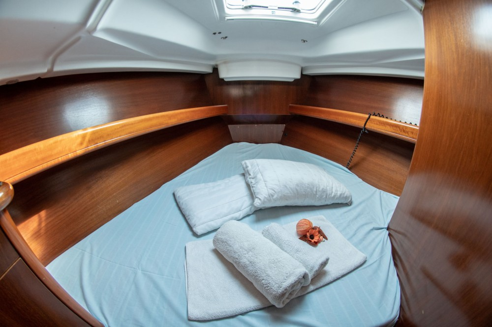 Oceanis Clipper 411 between personal and professional Volos Municipality