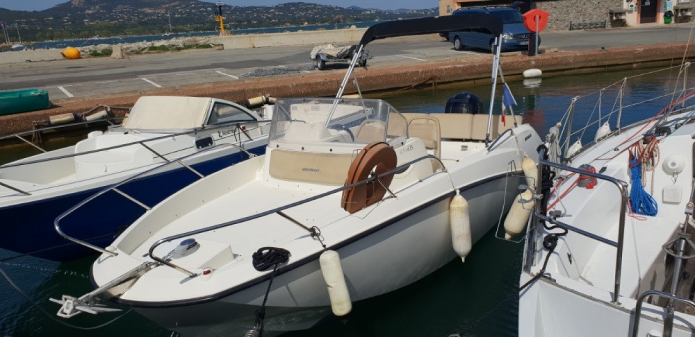 Hire Motorboat with or without skipper Quicksilver Cogolin