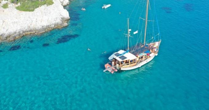 Boat rental Kit Marine Wood Sailing boat 65 fit in Volos on Samboat