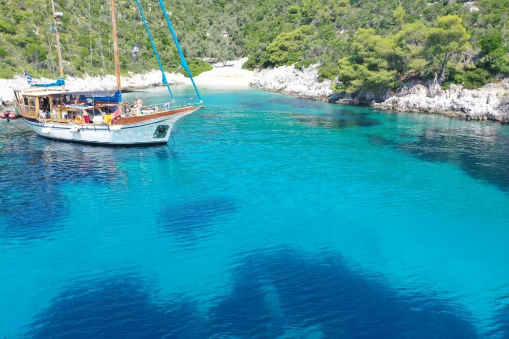 Kit Marine Wood Sailing boat 65 fit between personal and professional Volos Municipality