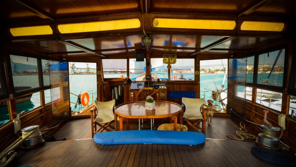 Rent a Kit Marine Wood Sailing boat 65 fit Volos Municipality