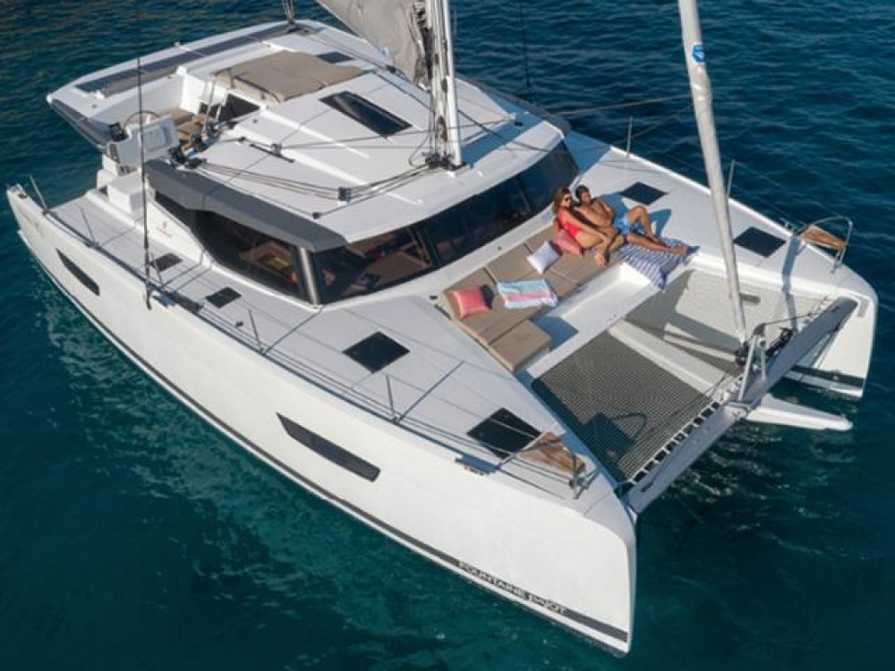 Rent a Fountaine Pajot Fountaine Pajot Astrea 42 - 4 + 2 cab. Peloponnese