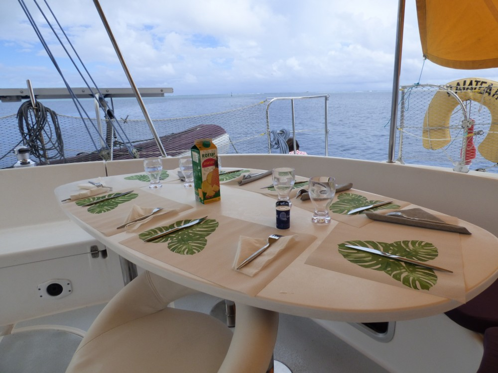 Rental Catamaran in Papeete - Fountaine Pajot Bahia 46
