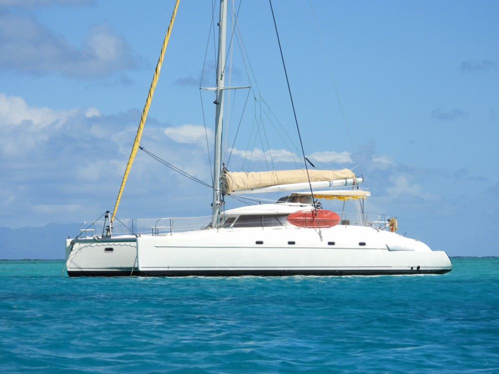 Rent a Fountaine Pajot Bahia 46 Papeete