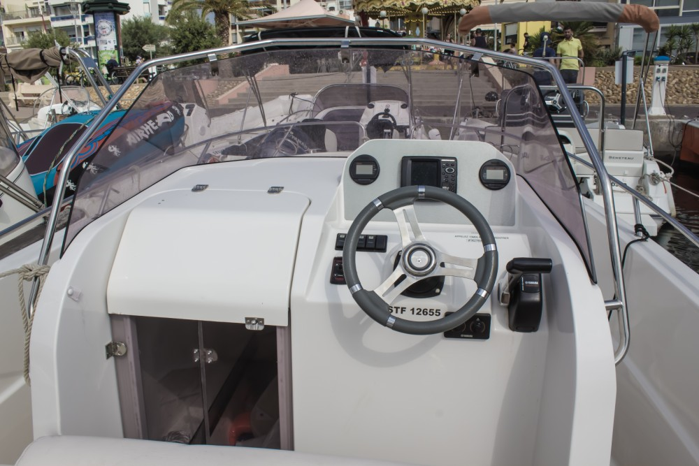 Rental Motorboat in Palavas-les-Flots - Pacific Craft Pacific Craft 625 Open