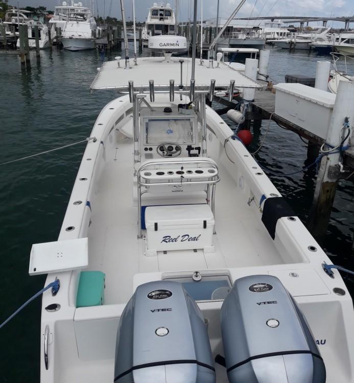 Rental Motor boat Sea Vee with a permit