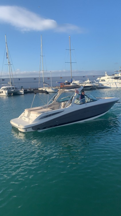 Hire Motorboat with or without skipper Sea Ray Marbella