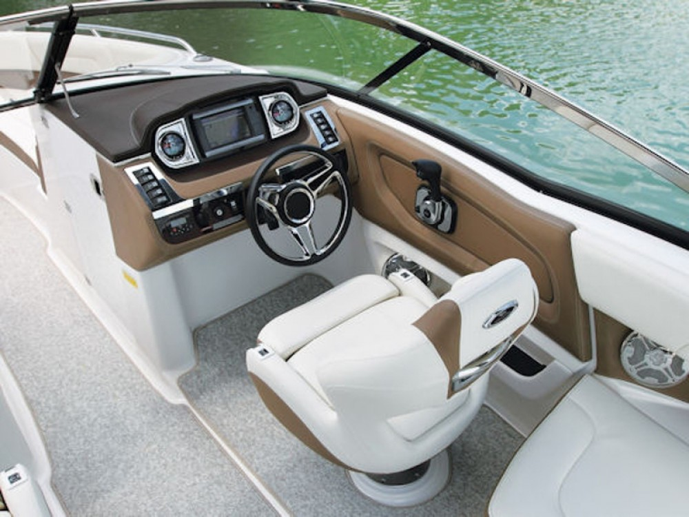 Rental Motorboat Chaparral with a permit
