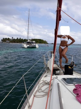 Sailboat for rent Marie-Galante Island at the best price